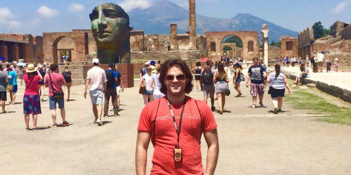 #90 Go to Pompeii