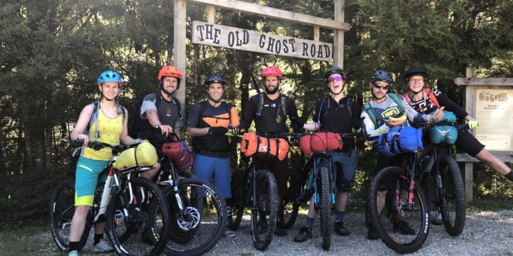 Old Ghost Road Mountain Bike Trek